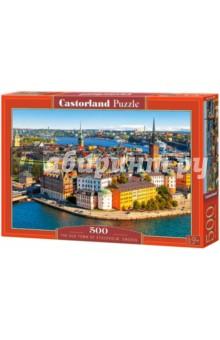Puzzle-500 Стокгольм,Швеция (B-52790) puzzle 500 настоящая любовь b 52943