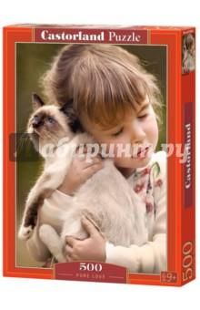 Купить Puzzle-500 Настоящая любовь (B-52943), Castorland, Пазлы (400-600 элементов)