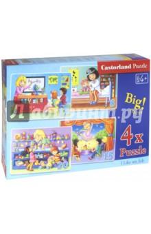 Puzzle-8*12*15*20 NEW Профессии (4 в 1) (В-041022) puzzle 9 15 стройка в 020065
