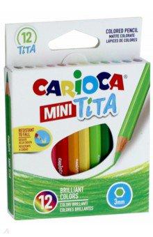 Набор пластиковых карандашей, 12 цветов