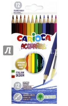 Набор матовых карандашей Acquarell (12 цветов) (42857) hasbro play doh игровой набор из 3 цветов цвета в ассортименте с 2 лет