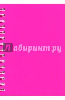 Записная книжка Notebook 120 листов, А5, пластик РОЗОВАЯ (45044) записная книжка artefly а5 линейка петропавловская крепость черная afnc r3sp1 bk