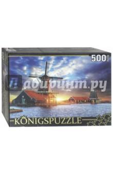 Puzzle-500 Нидерланды. Музей мельниц (ГИК500-8309) puzzle 500 яркие совы alpz500 7701