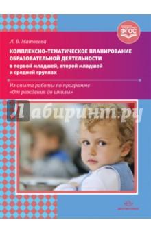 Комплексно-тематическое планирование образовательной деятельности в 1-й младшей, 2-й младшей групп комплексно тематическое планирование по программе от рождения до школы под редакцией вераксы