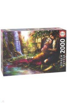 Пазл-2000 Секретный сад (17673) сенсорные купить до 2000 грн
