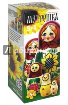 Купить Матрёшка деревянная Подсолнухи (5 в 1) (2713), Десятое королевство, Другие игрушки для малышей