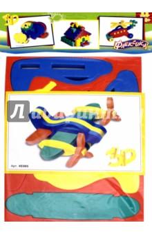 Конструктор Самолетик Флексика (45365), Тедико, Конструкторы из пластмассы и мягкого пластика  - купить со скидкой