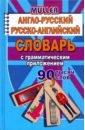 Англо-русский, русско-английский словарь с грамматическим приложением. 90 000 слов, Мюллер Владимир Карлович