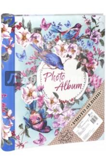 """Фотоальбом """"Птицы и цветы"""" (10 магнитных листов) (77010)"""