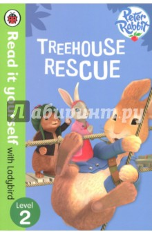 Treehouse Rescue peter rabbit goes to the treehouse activity book level 2