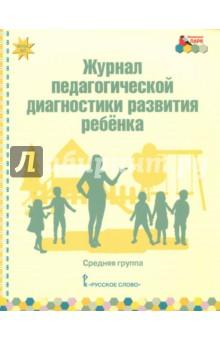Журнал педагогической диагностики развития ребёнка. Средняя группа. ФГОС адаптер для диагностики опель