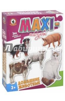 MAXI-пазлы Домашние животные (50222/03522) пазлы русский стиль макси пазлы африканские животные