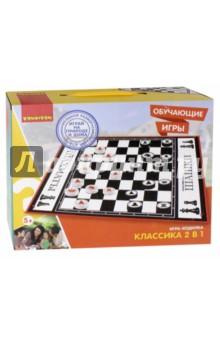 Купить Игра-ходилка обучающая «Классика 2 в 1» (ВВ2604), BONDIBON, Обучающие игры