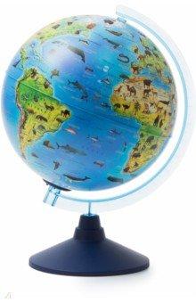 Глобус Зоогеографический (детский) d250 с подсветкой (Ве012500268)