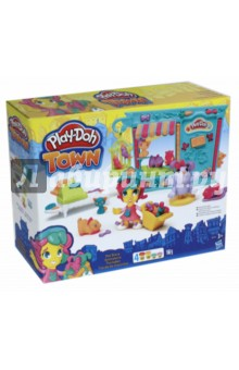 Набор Пластилина Город Магазинчик домашних питомцев (B3418) всё для лепки play doh игровой набор город магазинчик домашних питомцев
