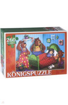 Puzzle-260 Три медведя (ПК260-6852) пазлы бомик пазлы книжка маша и три медведя