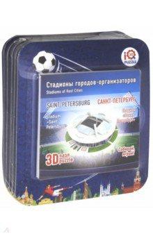 Набор №1 маленькие стадионы: 3D пазлы, 6 штук (57117) пазлы magic pazle объемный 3d пазл эйфелева башня 78x38x35 см