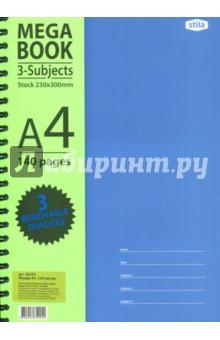 """Бизнес-тетрадь """"Spiral Book"""" (140 листов, клетка, А4, спираль) (84101) ()"""