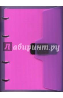 Тетрадь на кольцах (120 листов, клетка, А5, липучка) (84457) тетрадь seventeen 48 листов формат а5 цвет бирюзовый фиолетовый