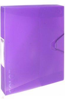 Папка-бокс с резинкой COLOR COLLECT фиолетовый (85546) андроид тв бокс в москве