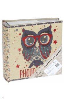 Фотоальбом Сова на 200 фото (77728) феникс презент фотоальбом зайка 24 29 см 20 листов