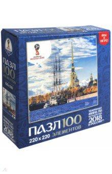Пазл-100 Города. Санкт-Петербург (03797) пазлы origami пазл дм зайчик и волчонок 25 элементов