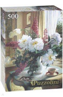 Puzzle-500 Нежный натюрморт(в) (ALPZ500-7697) puzzle 500 яркие совы alpz500 7701