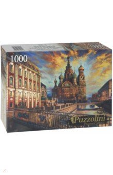 Puzzle-1000 Храм Спаса-на-Крови (FPZ1000-9939) Puzzolini