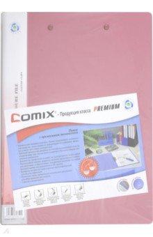 Папка с 2 прижимами, ассорти (AB151A/W) папка пластик comix а4 4 кольца ассорти