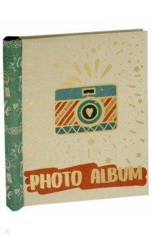 """Фотоальбом с магнитными листами """"Фотоаппарат"""" (10 листов) (77723)"""