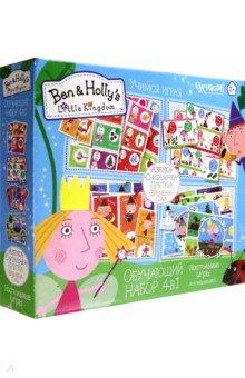 Ben&Holly. Набор обучающий 4 в 1 (03012) обучающий игровой набор для малышей 4 в 1 азбука считалочка прятки времена года 01973
