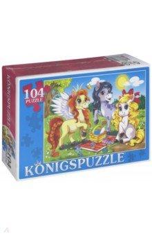 """Puzzle-104 """"Три пони"""" (ПК104-7752)"""