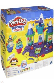 Набор игровой Замок мороженого (B5523EU6) hasbro игровой набор главная улица play doh город