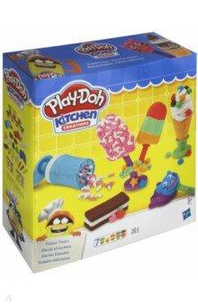 Набор Создай любимое мороженое (Е0042EU4), Hasbro, Наборы для лепки с игровыми элементами  - купить со скидкой