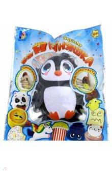 Игрушка-антистресс Пингвин (Т12321) 1toy игрушка антистресс ё ёжик животное цвет бежевый