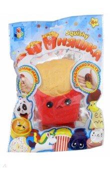Игрушка-антистресс Картофель фри (Т12323) 1toy игрушка антистресс ё ёжик животное цвет бежевый