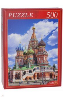 Купить Пазл-500 Собор Василия Блаженного (в) (ГИ500-8283), Рыжий Кот, Пазлы (400-600 элементов)
