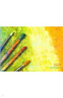 Альбом для рисования 40 листов, гребень Картина маслом (АС2Л401806) альбом планшет для профессионального рисования европа 50 листов гребень с1726 04
