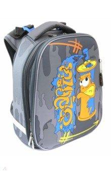 Купить Рюкзак ERGONOMIC Графити (NRk_21021), Хатбер, Ранцы и рюкзаки для начальной школы