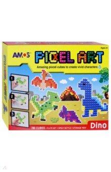 """Аква мозаика из пикселей """"Динозавры"""" (21510)"""