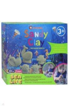 Купить Набор для лепки Sandy Clay. Морская Жизнь (B25016), Jovi, Наборы для лепки с игровыми элементами