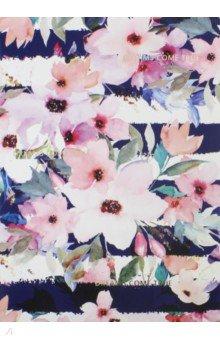 Тетрадь 48 листов, Mon cher, цветы (N1172).