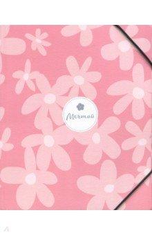 Папка на резинке А5+, Dream, розовый (N1309)