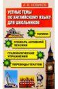 Новиков Александр Устные темы по английскому языку для школьников