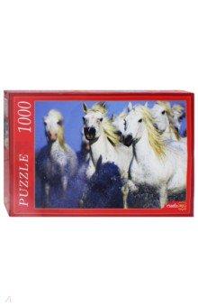 Puzzle-1000 Белые лошади (КБ1000-6930) puzzle 1000 поле подсолнухов кб1000 6897