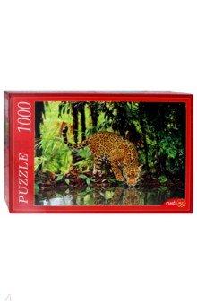 Купить Puzzle-1000 Ягуар на водопое (КБ1000-6934), Рыжий Кот, Пазлы (1000 элементов)