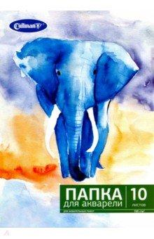 """Папка для акварели """"Слон"""" (10 листов, А4) (FK-4410)"""