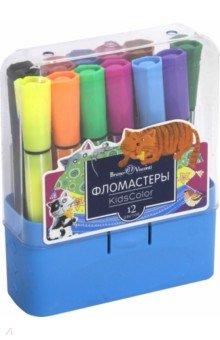 Фломастеры Kidscolor (12 цветов) (32-0037) visconti ручка перьевая visconti сальвадор дали