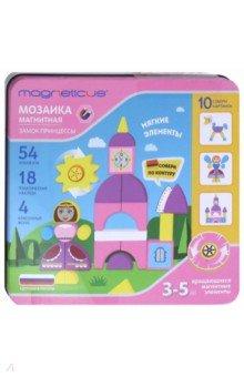 Купить Магнитная мозаика Замок принцессы (54 элемента) (MC-001), Magneticus, Игры на магнитах