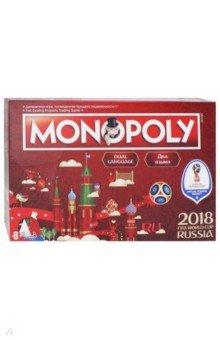 Купить Игра Монополия. Чемпионат мира по футболу FIFA 2018 (Т12023), Hasbro, Бизнес-игры